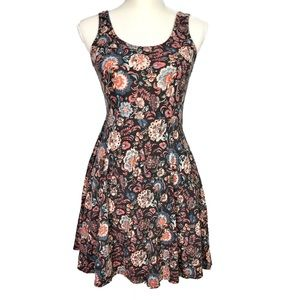 Urban Outfitters Ecote Short Paisly Floral Dress